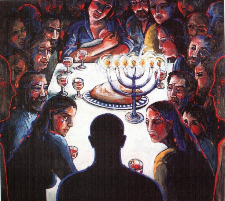 margaret ackland last supper 1993